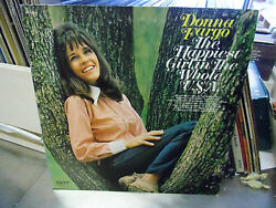 Donna Fargo The Happiest Girl In The Whole Usa Lp Vg+ 1972 Dot Records 26000