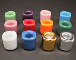 Ceramic Chime Candle Holder: You Choose Color Spell Candle Holder