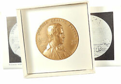 Nyu Hall Of Fame Stephen Collins Foster Song Writer 44 Mm / Bronze Medal / N109