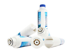 6x Water Filter For Samsung Rf260beaesr,rs261mdrs,rf261beaesr,rfg297hdrs