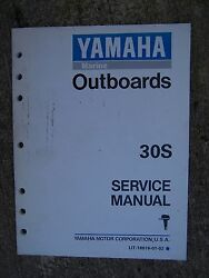 1993 Yamaha Marine Outboard Motor 30s Service Manual More Manuals In Our Store U