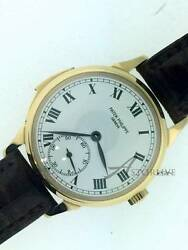18k Yellow Gold Patek Philippe Ref. 3979 Minute Repeater 150th Anniversary Model