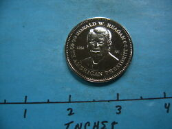 Ronald Reagan 40th American President Double Eagle Presidential Coin Nice M-2