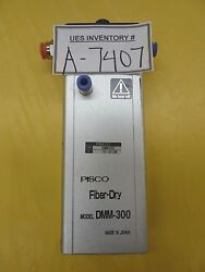 Pisco Dmm-300 Fiber Dry Pneumatic Air Dryer Used Working