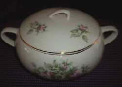 Rare Rare Vintage Paden City Pottery 7 1/2 Covered Vegetable Bowl 1940-1950's
