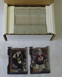 2001-02 Crown Royale Hockey Premiere Date Set 1-144 'd Out Of 60