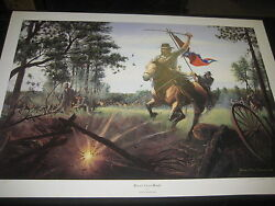 Brice's Cross Roads, By James Thomas Neumann, Print, Nathan Bedford Forrest
