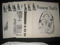 Powwow Trails, Past And Present American Indian Culture 7 Magazines 1965-67  Bk2