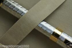 Sheaffer Prelude Signature Silver And 22kt Gold Snakeskin Pattern Fountain Pen