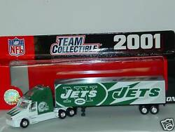 Nfl 2001 Tractor-trailer-truck, New York Jets, New