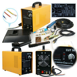 Portable Electric Digital Plasma Cutter Cut50 110/220v Compatible And Accessories