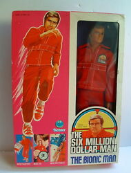 1976 kenner six million dollar man bionic