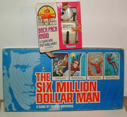1977 six million dollar man game bionic