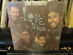Still Sealed The Counts / Love Signs Orig. 1973 Aware Aa2002
