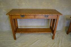 Wedged Tennon Sofa Table W Drawers FREE SHIPPING