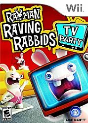 Rayman Raving Rabbids TV Party for Nintendo Wii WII Action Adventure Video $4.29
