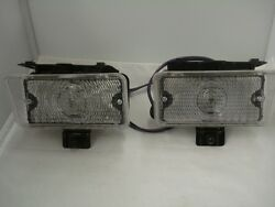 1970 70 Chevy Chevelle Parking Lamp Lights Assembly Set Left Right Side Lh Rh