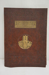 Vintage Castle Heights Military Academy Information Book