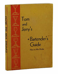 Tom And Jerry's Bartender's Guide How To Mix Drinks Vintage Cocktail Bar 1948