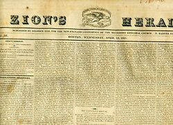 Newspaper Littleton Village Nh Now Glynville New Hampshire -indian Removal -1825