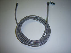 HONDA CIVIC CLUTCH LINE STAINLESS STEEL BRAIDED FOR 1992 2000 ENGINE SWAP $30.00