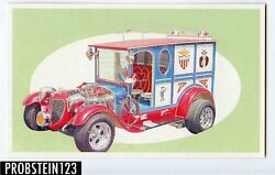 1970 Topps Way Out Wheels Mod Mail Truck Proof Card -