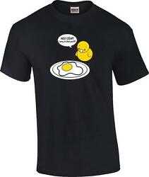 Funny Chicken Egg Holy Crap Larry is That You Novelty Humor T Shirt