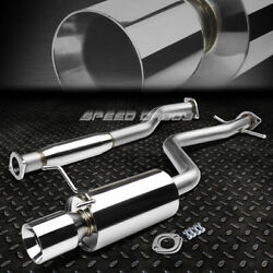 For Altezza Is 2jz Xe10 Bolt-on Stainless Catback Exhaust Muffler 4rolled Tip