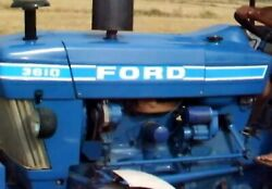 Ford 3610 Decal Kit For Farm Tractors Hood Decal