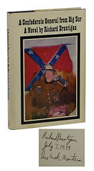 A Confederate General From Big Sur Signed By Richard Brautigan First Edition