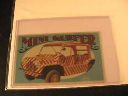 1970 Topps Way Out Wheels Proof Mini Surfer