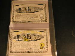 1964 Topps Nutty Awards 2 Proof Card Set 11