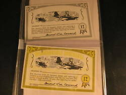 1964 Topps Nutty Awards 2 Proof Card Set 12