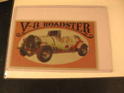 1970 Topps Way Out Wheels Original Proof V-8 Roadster