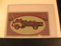 1970 Topps Way Out Wheels Original Proof Voxmobile