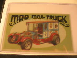 1970 Topps Way Out Wheels Original Proof Mod Mail Truck