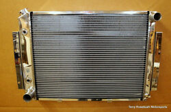 Be Cool New 63049 Blem Polished Direct-fit Show And Go Radiator - 1949-51 Merc