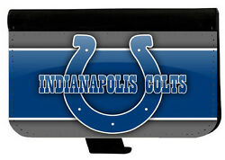 INDIANAPOLIS COLTS SAMSUNG GALAXY amp; iPHONE CELL PHONE CASE LEATHER COVER WALLET $19.99