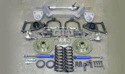1935 - 40 Ford Mustang Ii Complete Front Suspension Kit Power Stock + Chevy Ifs