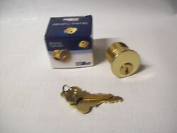 Lot Of 2 Ilco Mortise Cylinder 7185fa1-03-te6787