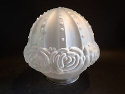 Rose Ball Glass Lamp Globe / Shade Fan Ceiling Fixture Replacement 7