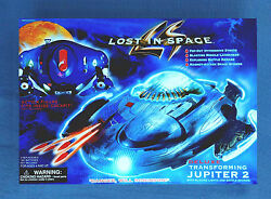 Deluxe Transforming Jupiter 2 Ship Lost In Space Trendmasters 1997 Unopened Vf