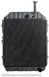 New Holland Tractor Radiator Assembly E3nn8005bd15m
