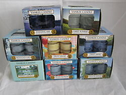 Yankee Candle One Box Of 12 Scented Tea Light Candles U Pick The Scent U Want