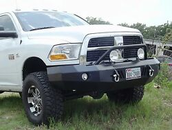 New Panther Winch Front amp; Rear Bumper 10 18 Dodge Ram 2500 3500