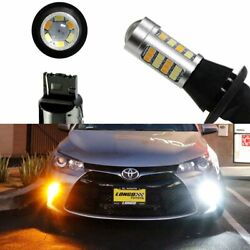 Switchback LED Bulbs For 2015-up Toyota Camry Front Turn Signal Lights or DRL