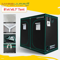 Mars Hydro 8and039x4and039xand0396.7and039 Indoor Grow Tent 1680d Reflective Mylar Nontoxic Room Box
