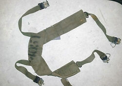 M56 Webbing Suspenders - Vietnam Australian And Us Army Issue Used - Usa Made