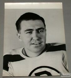 Original Early 50and039s Jim Henry Boston Bruins Photo