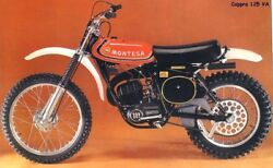 Montesa Cappra 125 Va Side Panels Paint And Decals New Part Side Panels Cappra